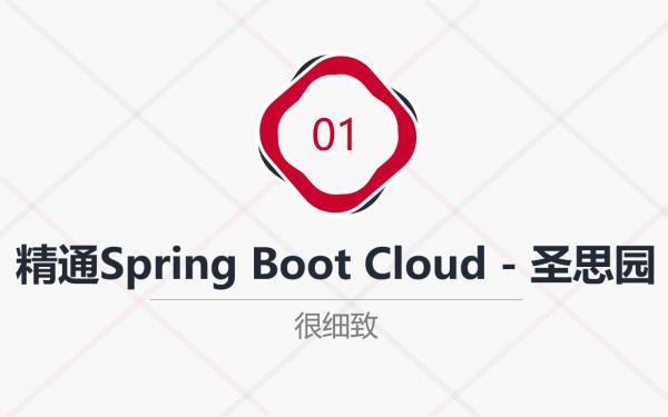 精通Spring Boot与Cloud