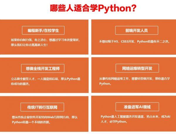 哪些人适合学Python