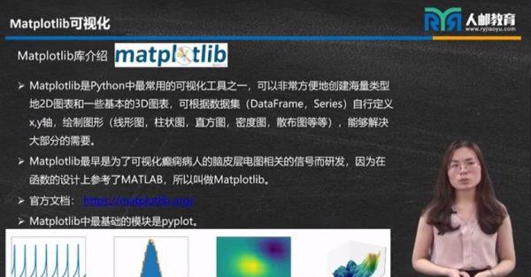 Python数据可视化视频截图